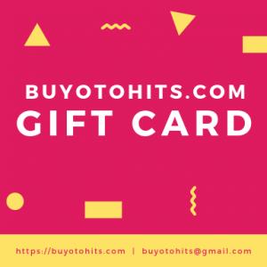 BuyOtohits Gift Card