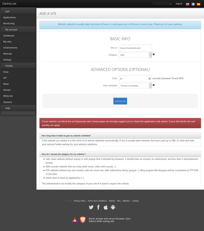 Use Otohits Points
